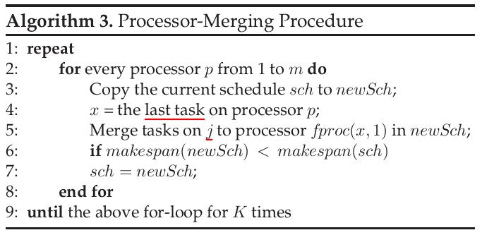 Processor-Merging Procedure =400x